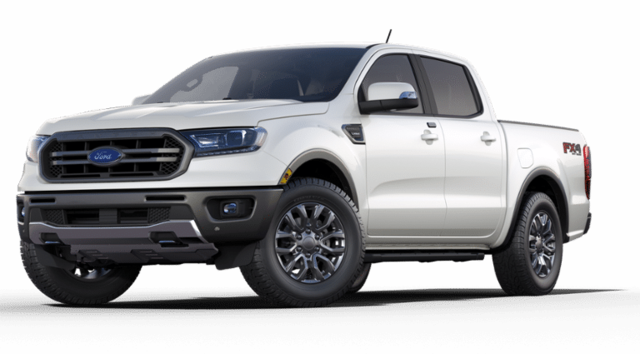 2019 Ford Ranger LARIAT w/Navigation LARIAT 4WD SuperCrew 5 Box